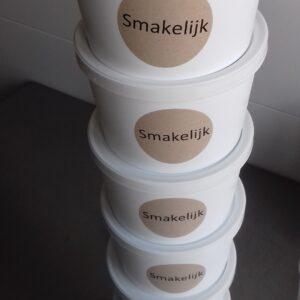 Schepijs (verkrijgbaar in dozen van 1liter en/of potjes van 120 ml)